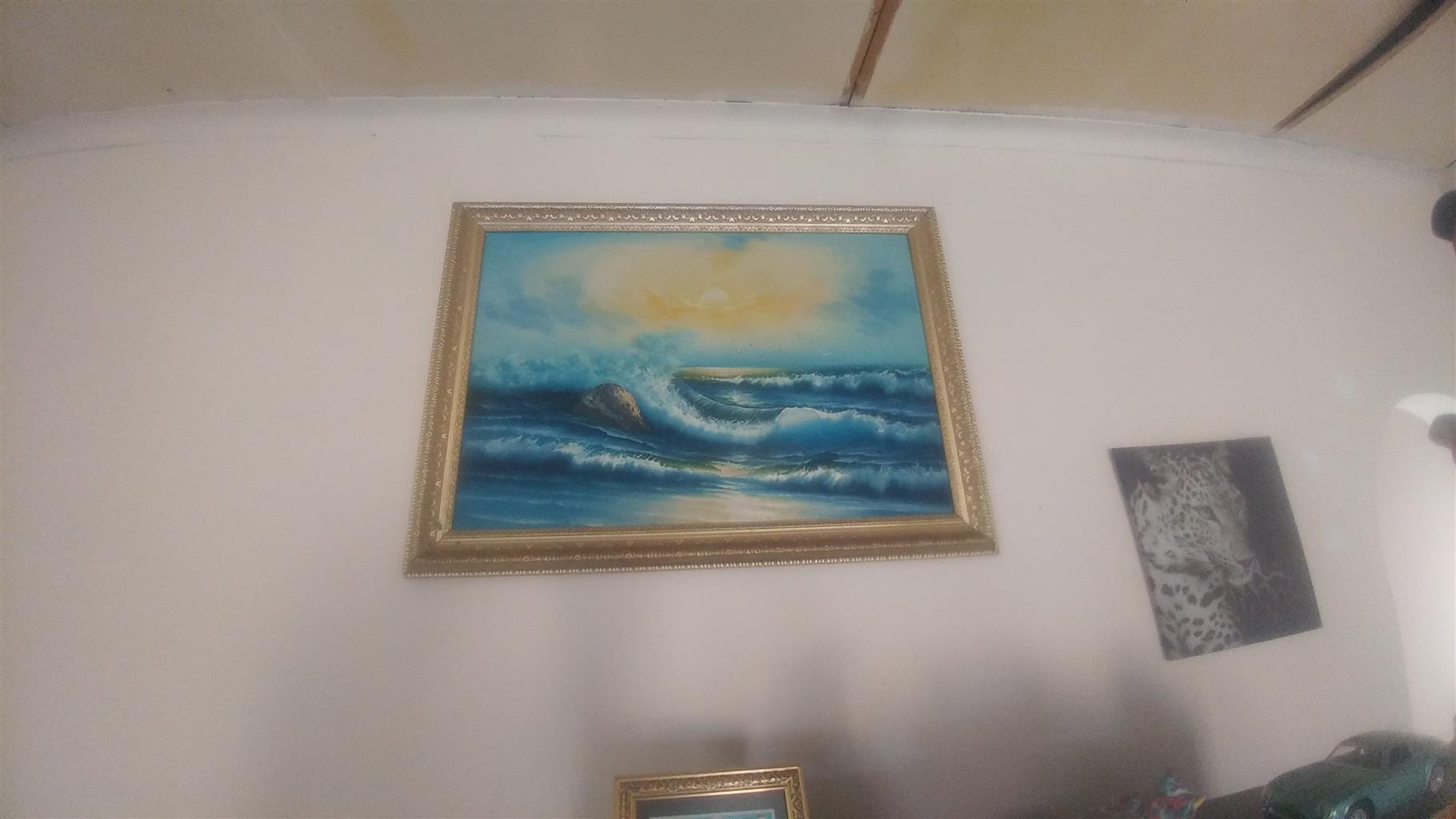 Painting of Sea by Toni.