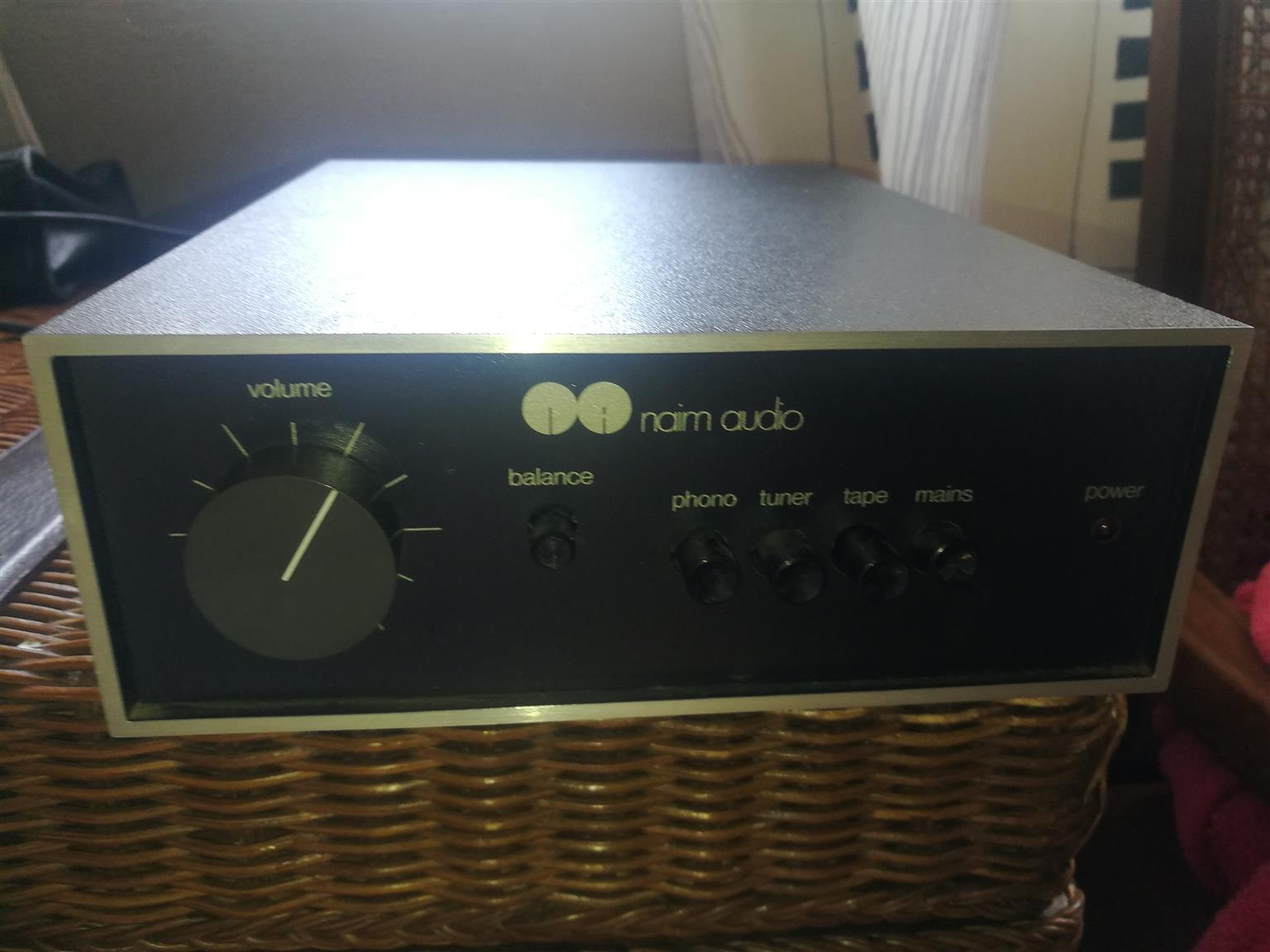 The legendary Naim Nait Integrated stereo amplifier and matching Power amp Naim 250