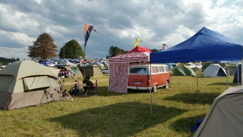 Side tent for Microbus