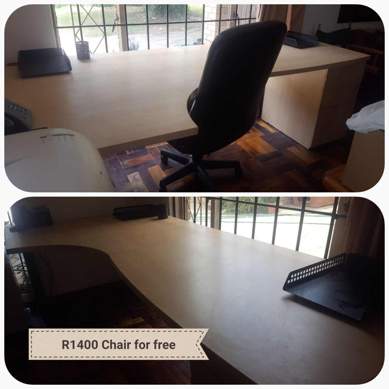Office Desk (chair for free with the desk)