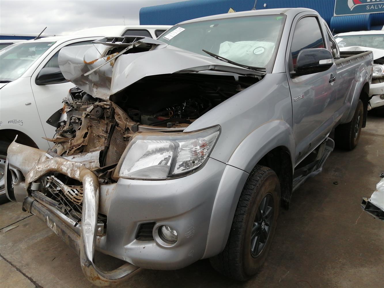 2015 Toyota Hilux 2.0 Code 2