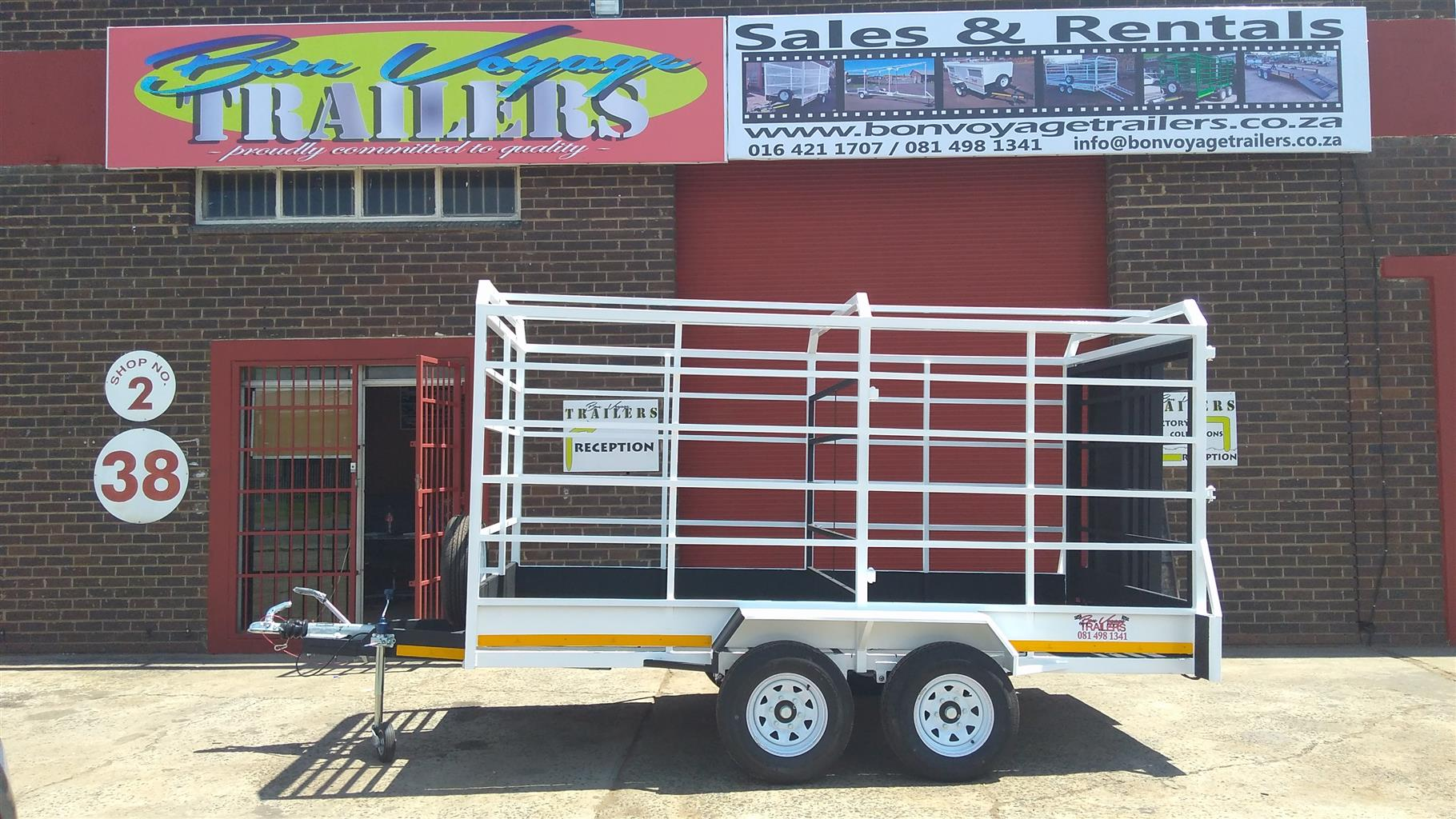 cattle trailer special