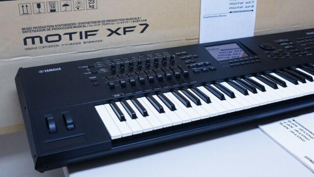 yamaha motif xf 7, 76 keys, white, anniversary edition