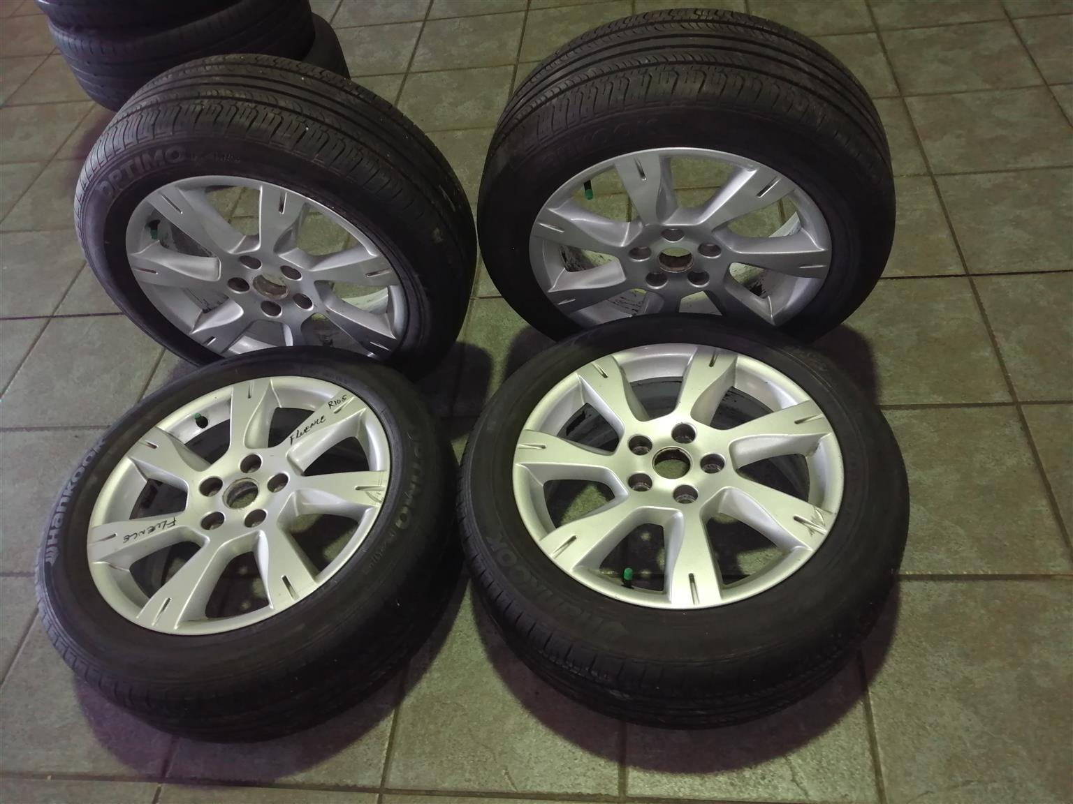 FLUENCE RENAULT WHEEL SET