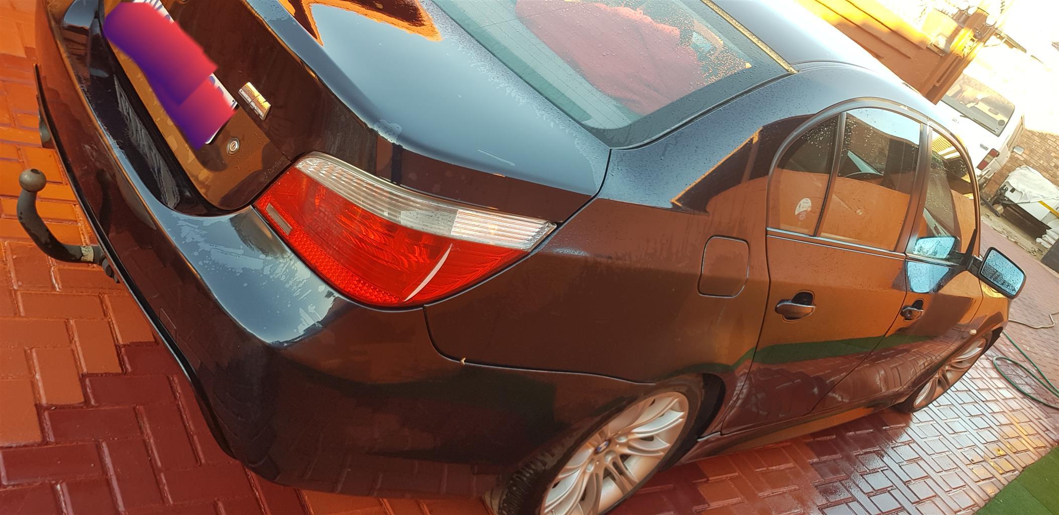 2006 BMW 5 Series 523i M Sport steptronic