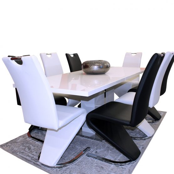DINING SUITE BRAND NEW BOSTON EXTENSION DINING TABLE FOR ONLY R 15 999!!!!!!!!!!!!!