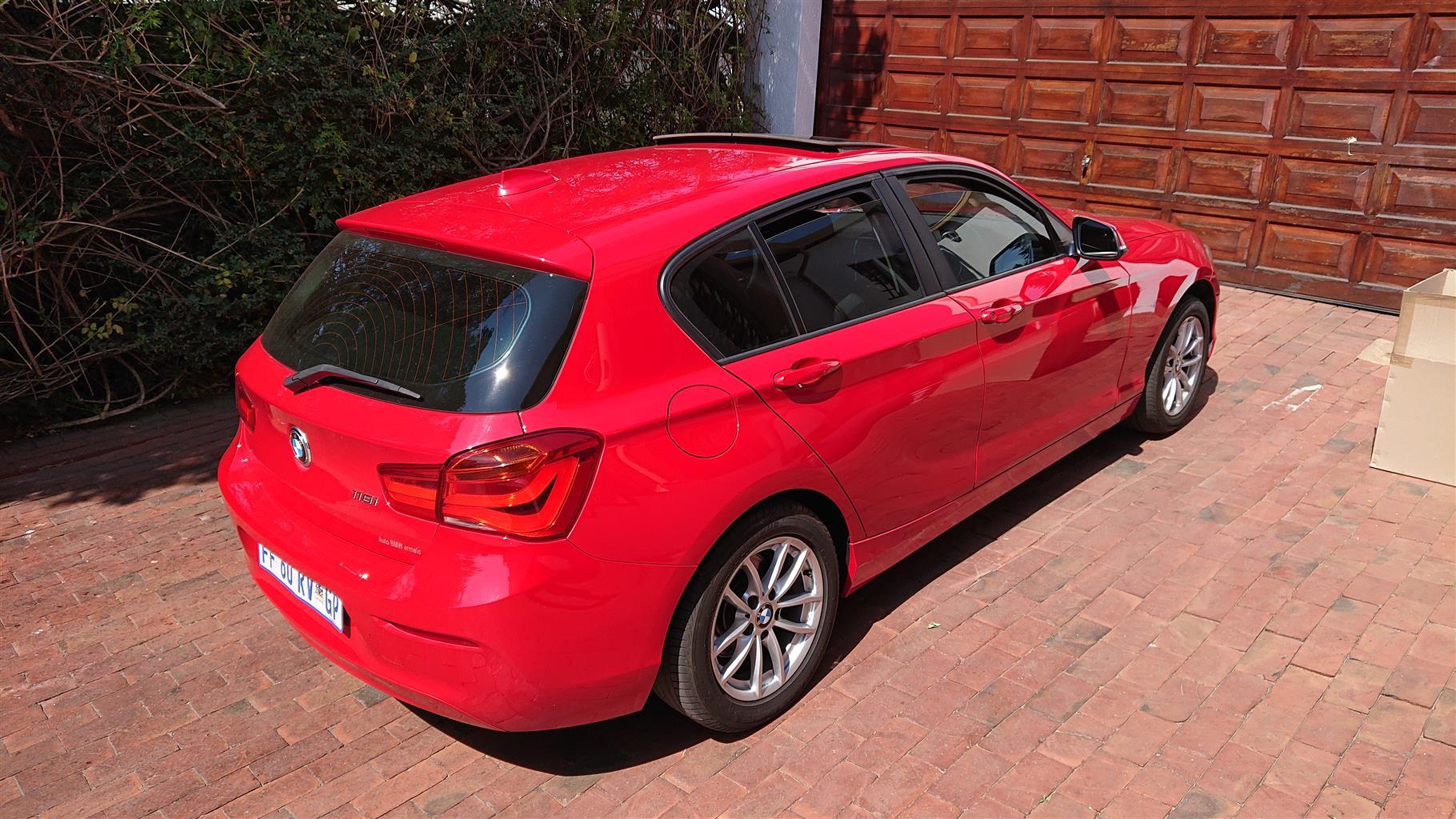 2016 BMW 1 Series 118i 5 door