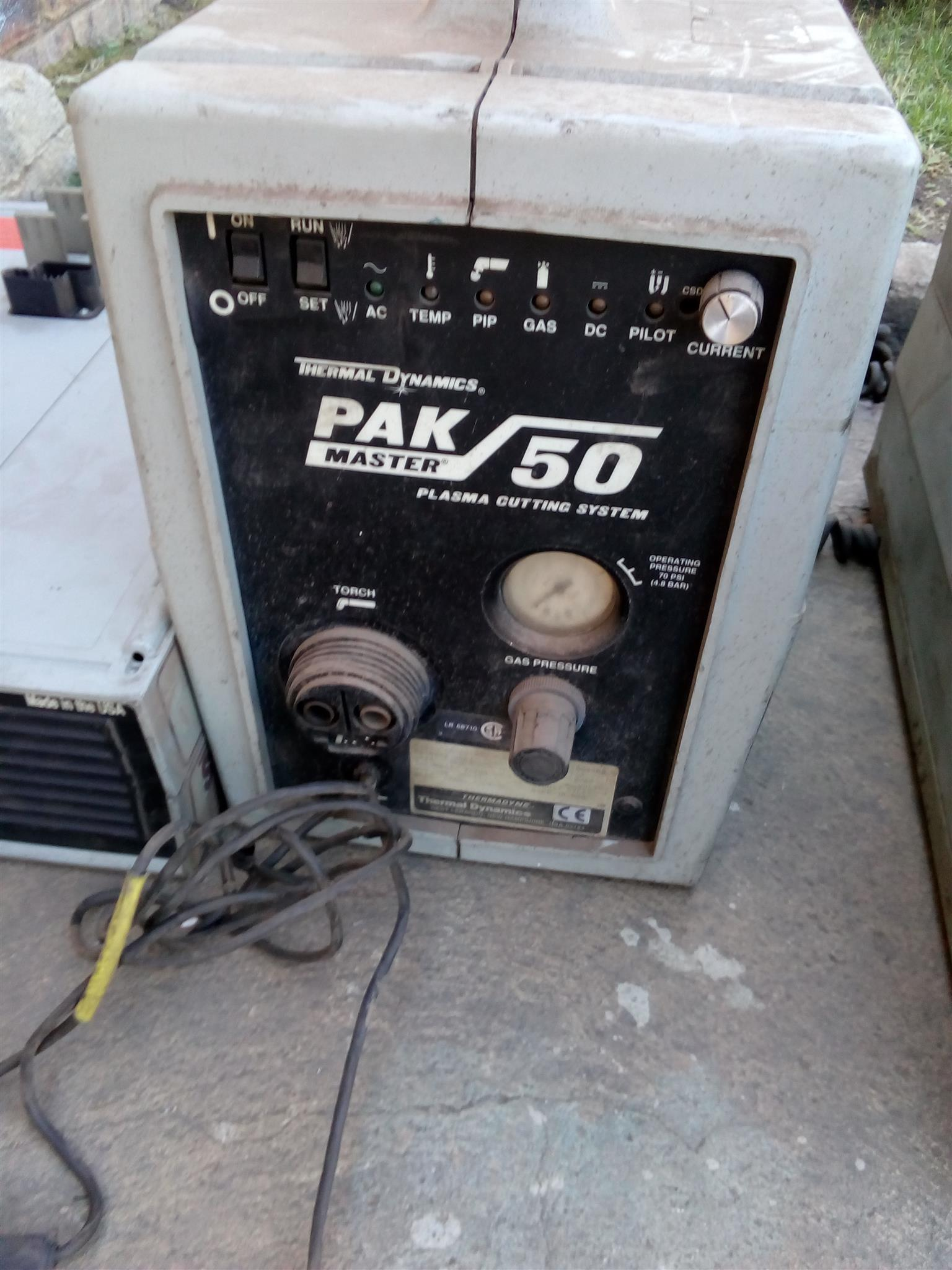 various welding equipment for spares