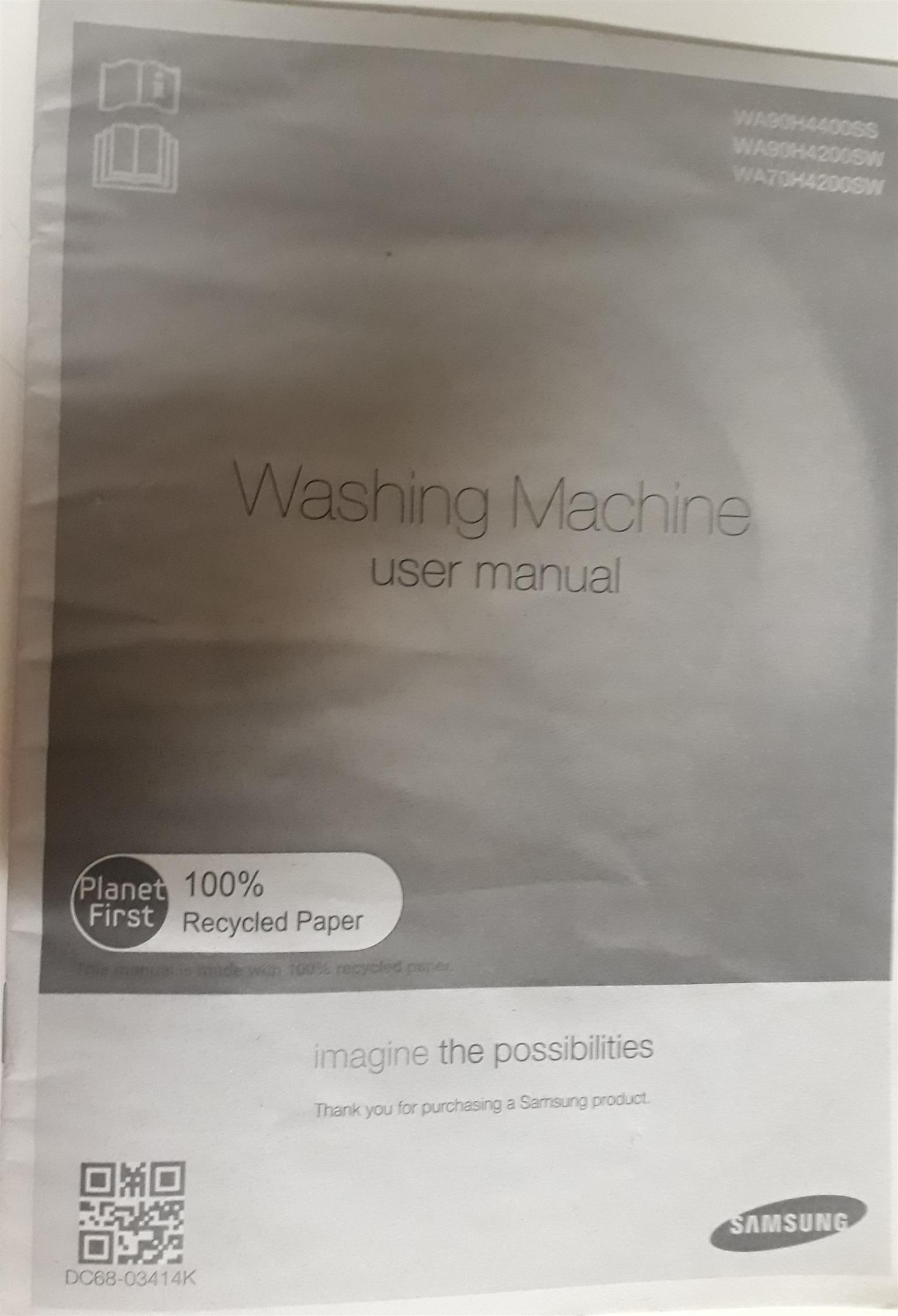 Samsung 13kg Whobble Trchnology Top Loader whashing machine