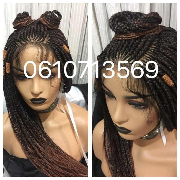 STUNNING CORNROW WIGS AND MORE