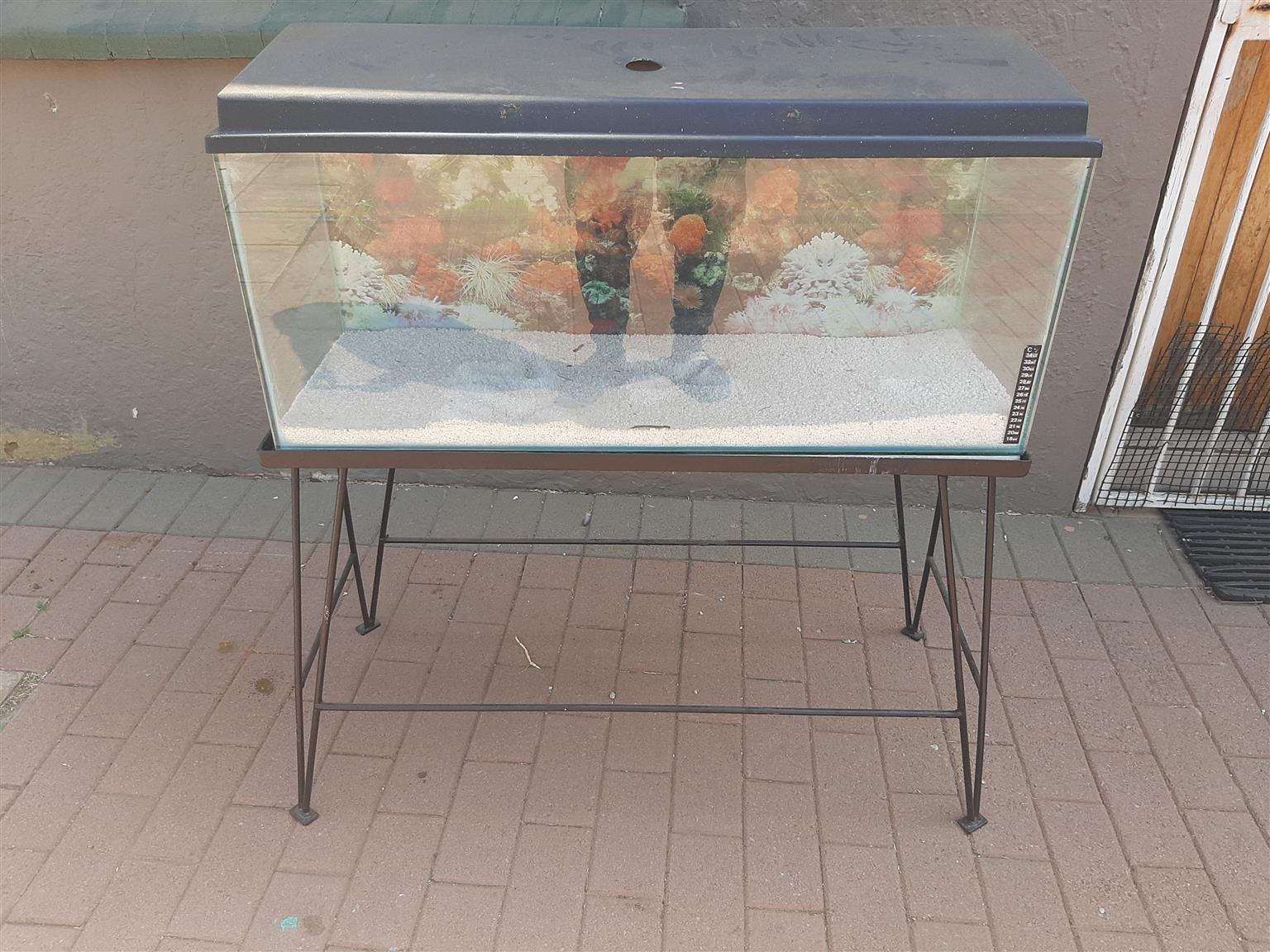 2 3foot fish tanks with stands and accessories for sale