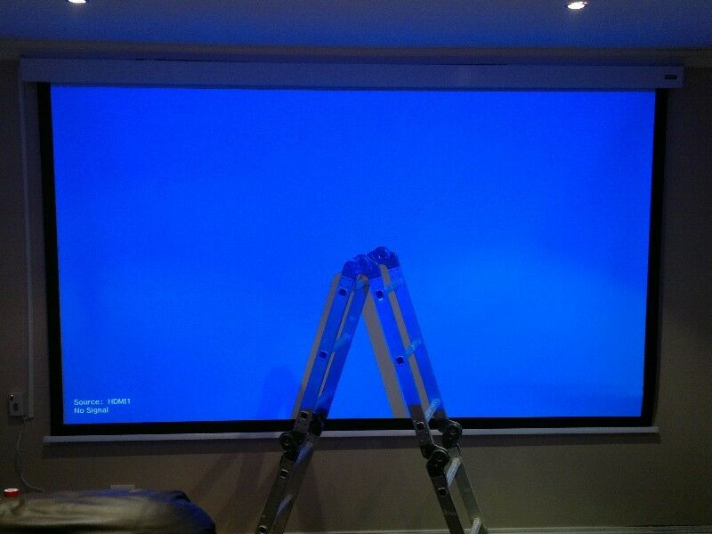 Epson EH-TW6000 3D Projector with 3.5 meter screen