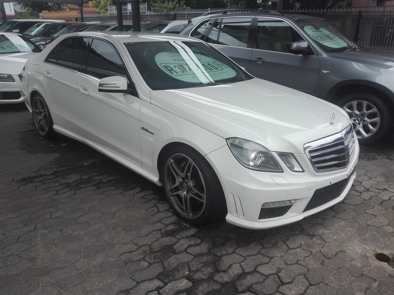 2011 Mercedes Benz E-Class sedan AMG E63 S 4MATIC