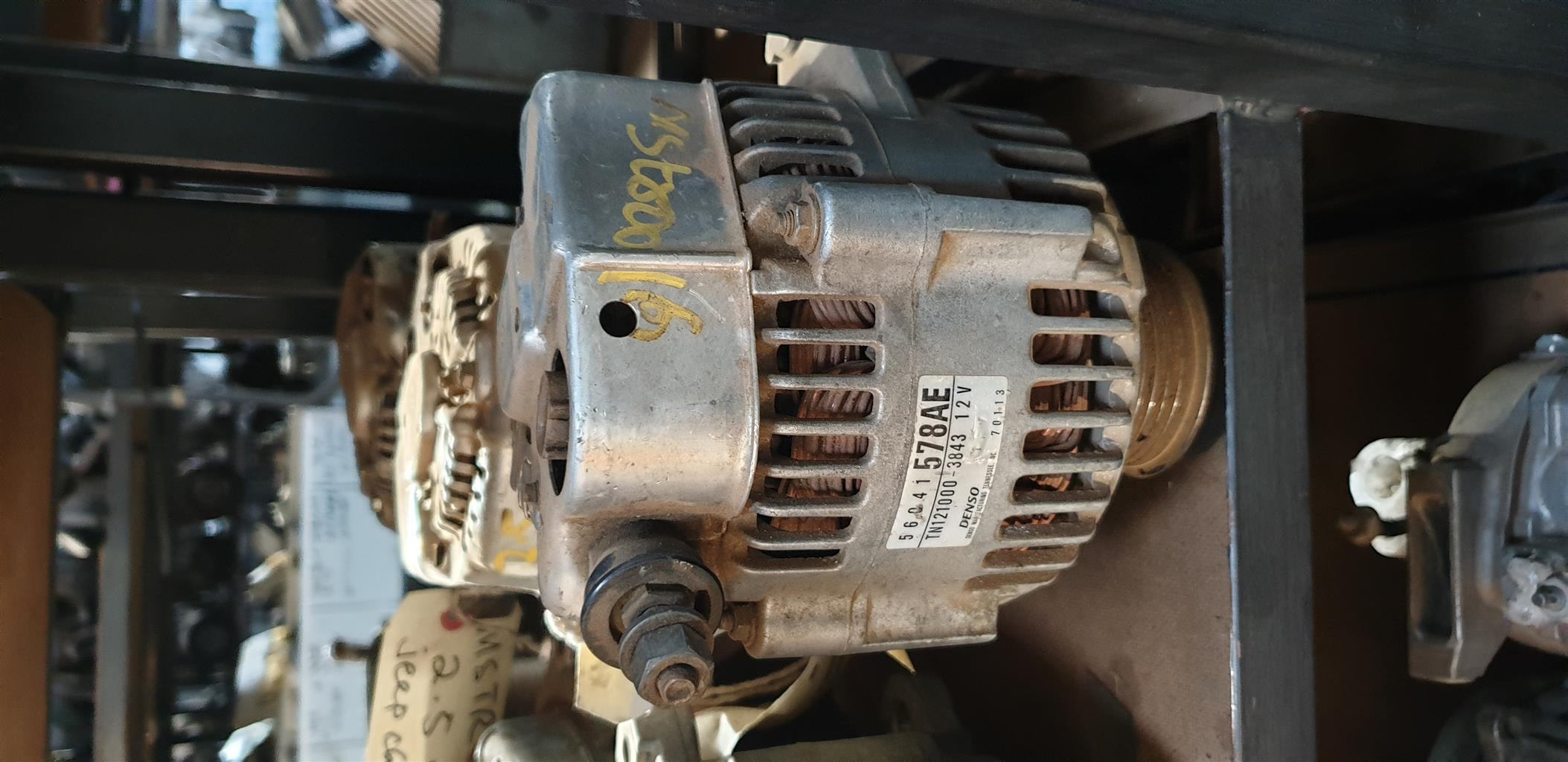 Jeep Cherokee (Liberty) KJ 2.5 CRD Alternator