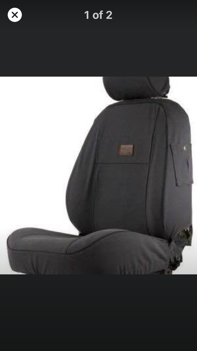 Melvill & Moon seat covers