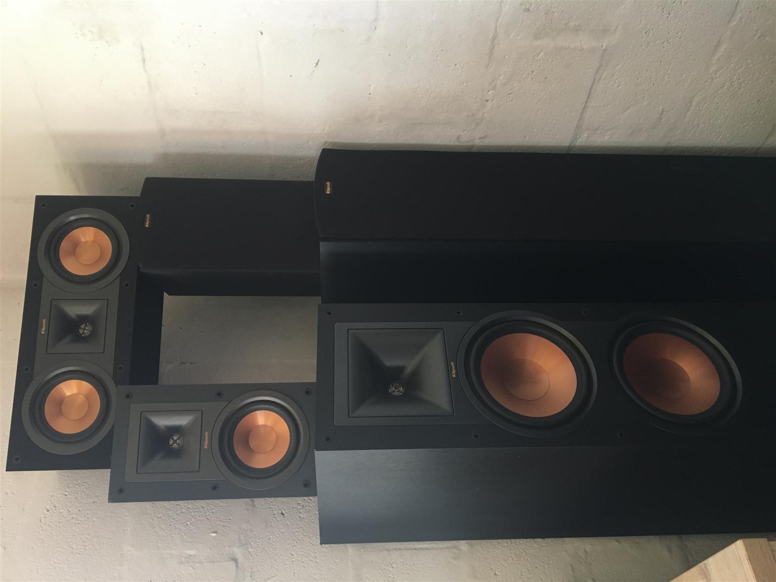 Klipsch 5.1 home theater speaker system