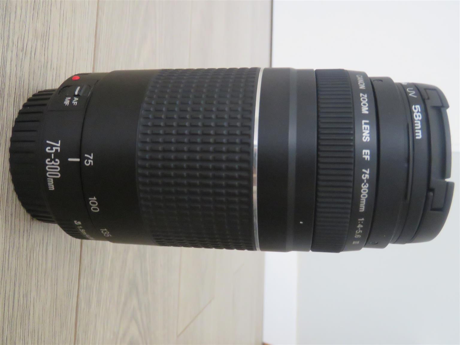canon 600D SLR