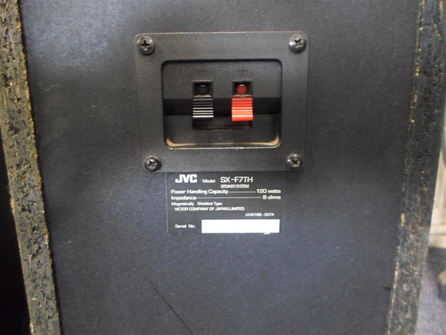 Speakers JVC SX-F7TH