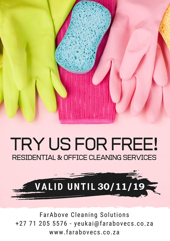 Residential And Office Cleaning Services Junk Mail