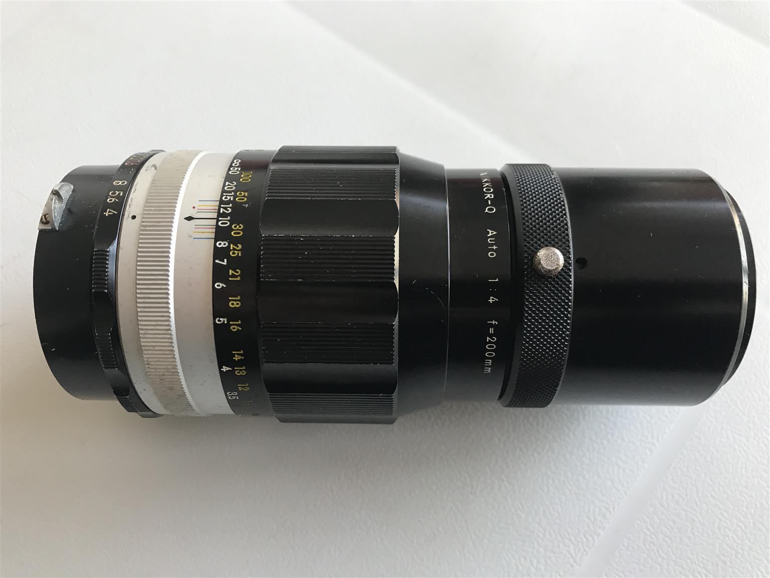 Vintage Nikon Lenses for sale
