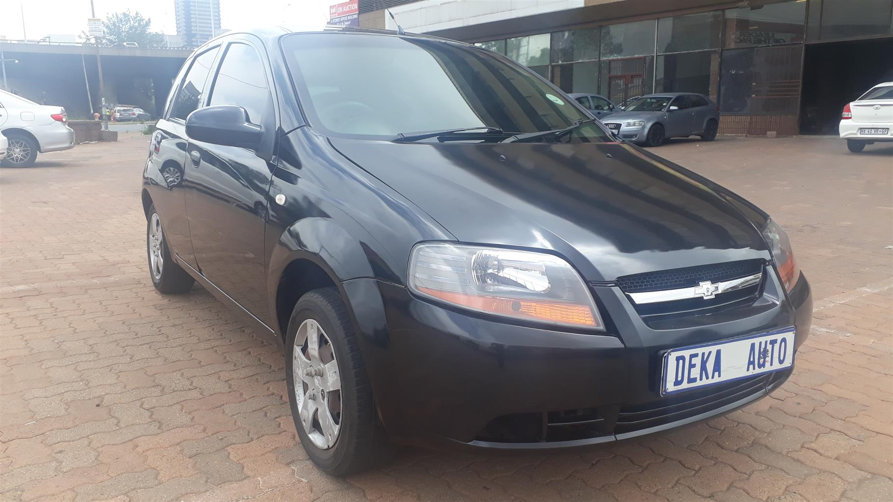 2006 Chevrolet Aveo 1.6 L hatch