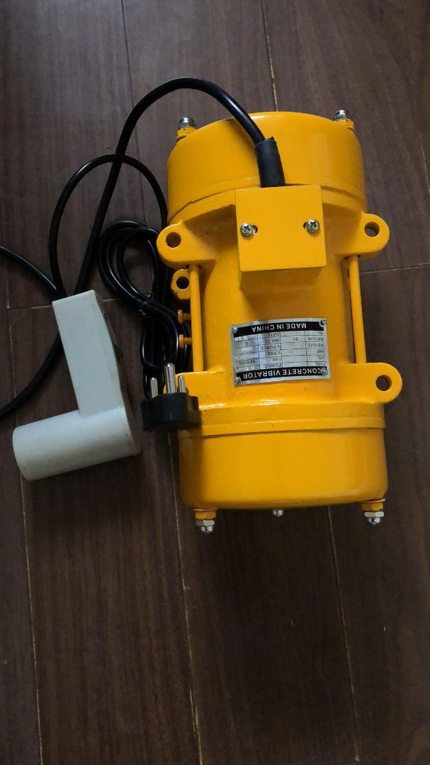 Vibrator Motor Single Phase 220v 0 75kw   Junk Mail