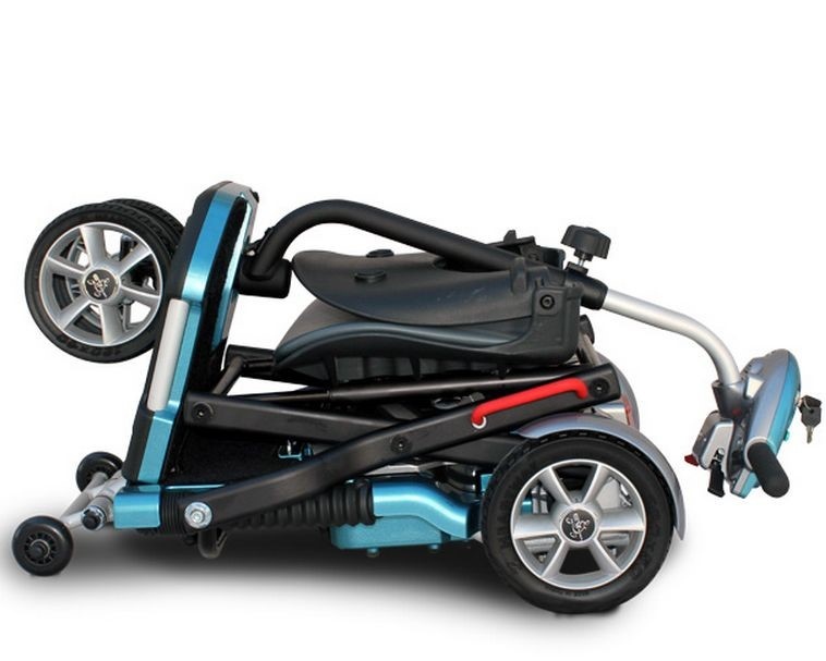 MR WHEELCHAIR S19 BRIO ONE HANDED FOLD TRAVEL: