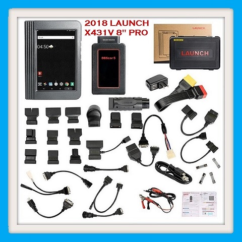 Vehicle scanner Full system diagnostic New Released Launch X431 V 8inch Tablet Wifi/Bluetooth