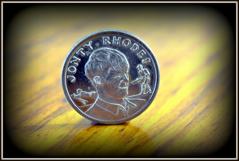 Johnty Rhodes coin