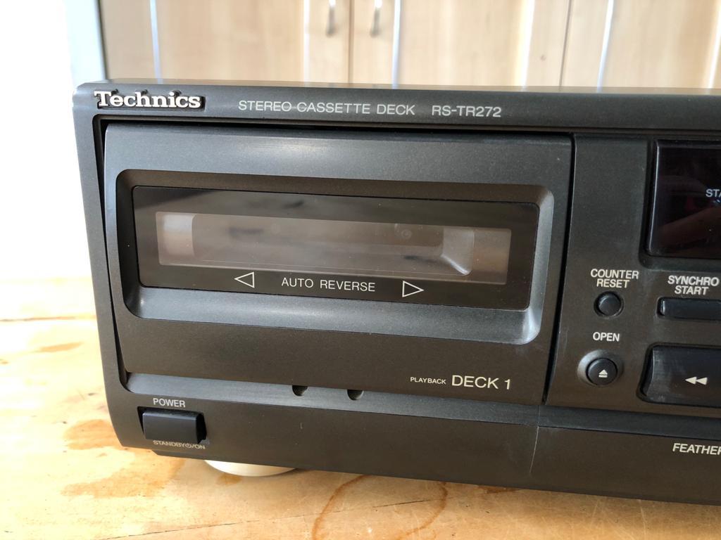 Technics RS-TR272 Double Cassette Deck - repair project - please read details be