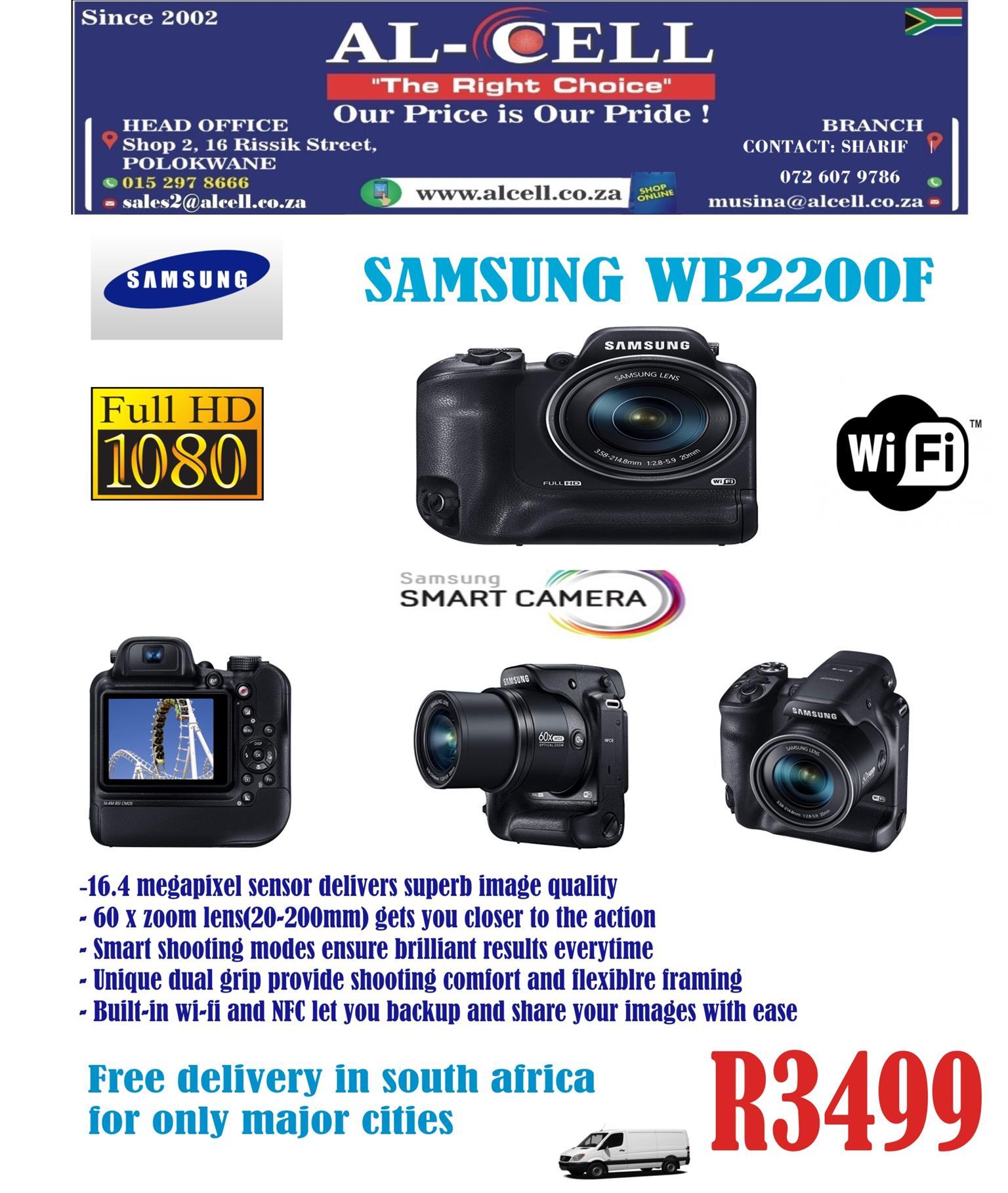 SAMSUNG Smart Digital Camera WB2200F