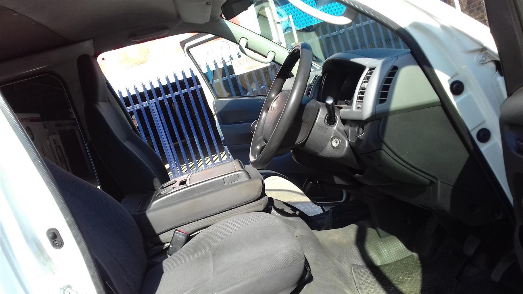 2012 Toyota Quantum 2.5D 4D panel van