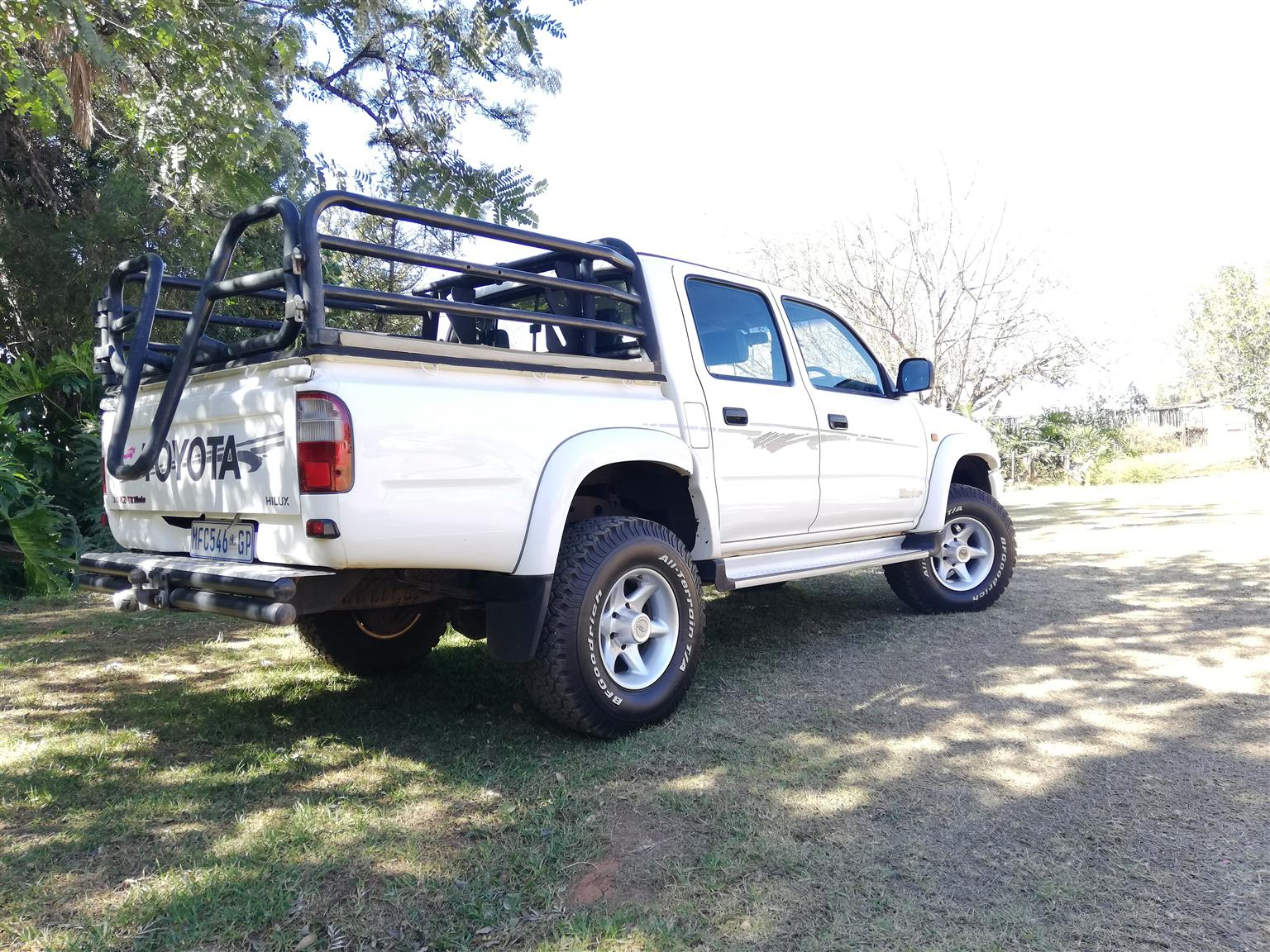 2001 Toyota Hilux 2.7 double cab Raider