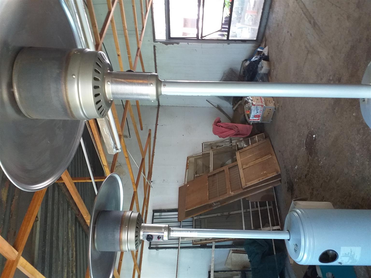 Patio gas heaters