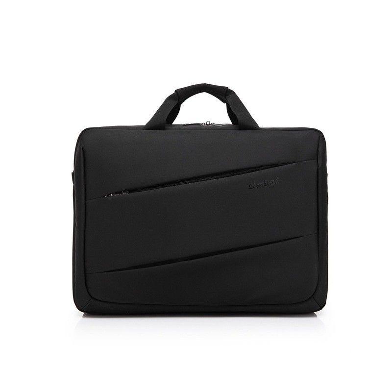 "CB-2069 Waterproof Nylon 17.3""Laptop/Shoulder Bag For HP/Apple/Dell Black"