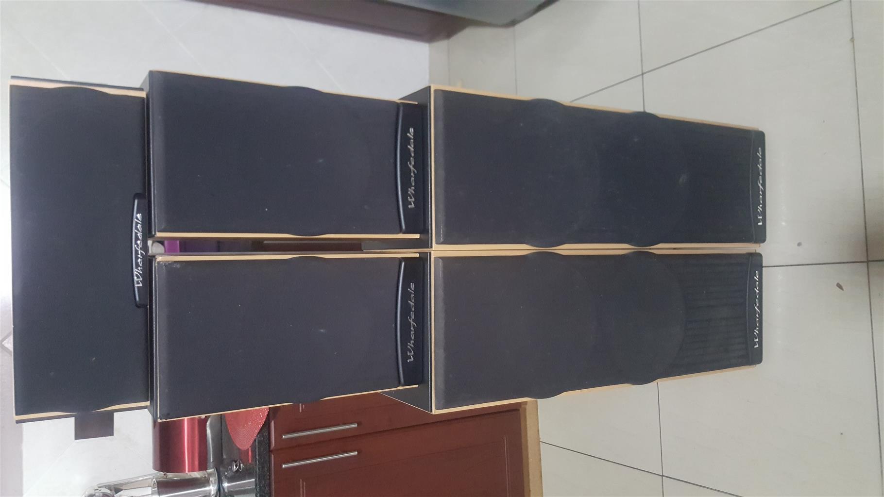 Wharfedale Atlantic series speaker set