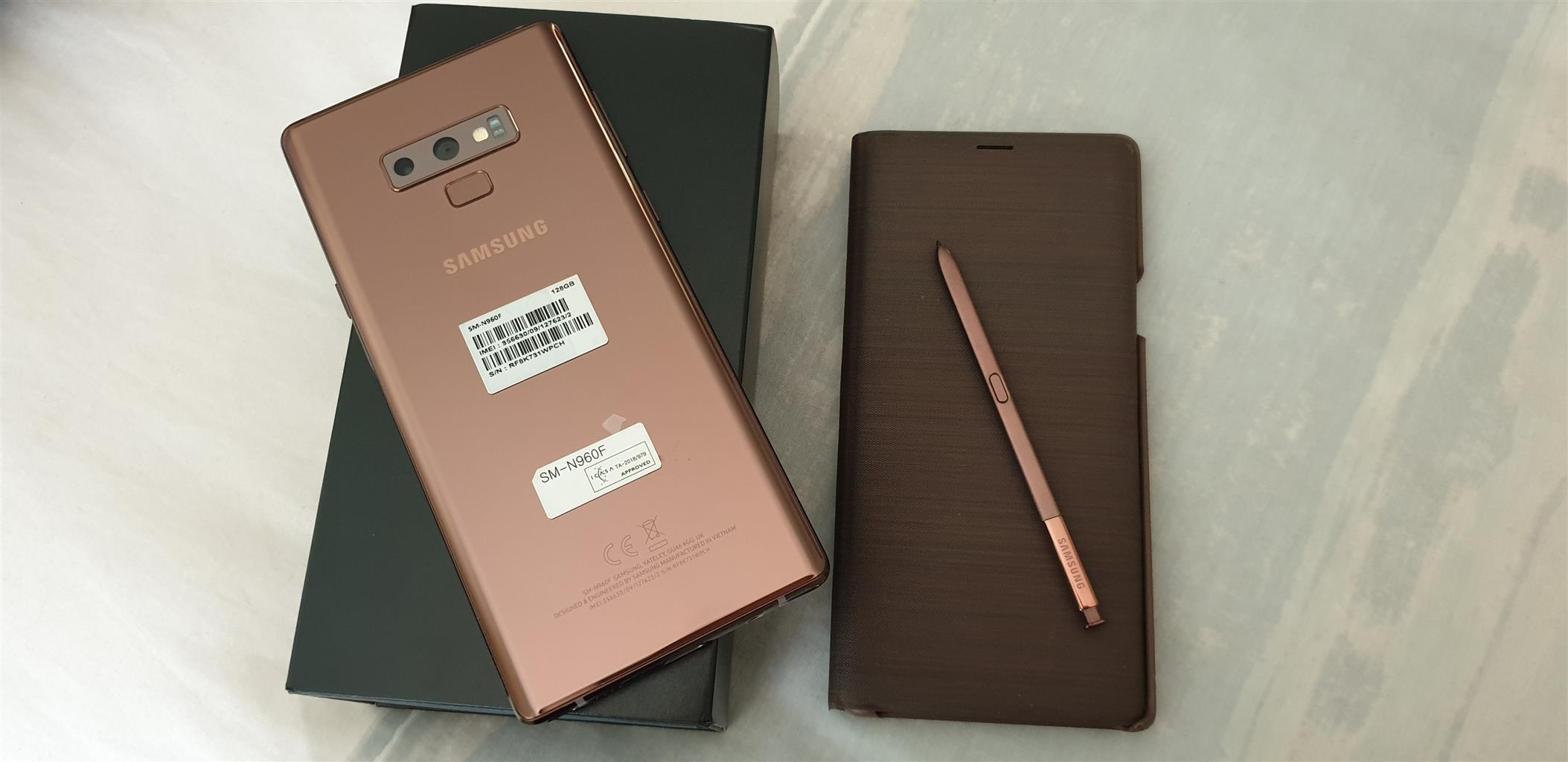 Samsung Galaxy Note 9,mint condition