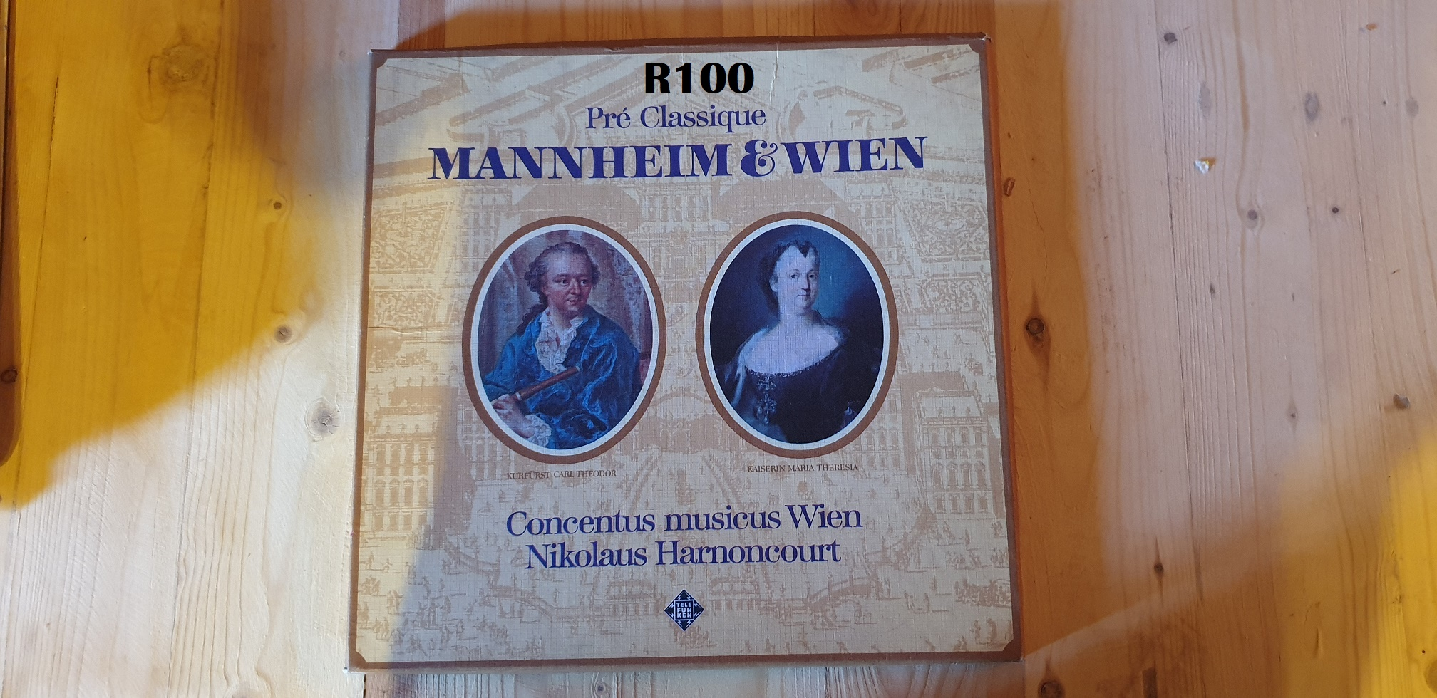 Collection of 2 LP'S of pre- Classique Mannheim & Wien