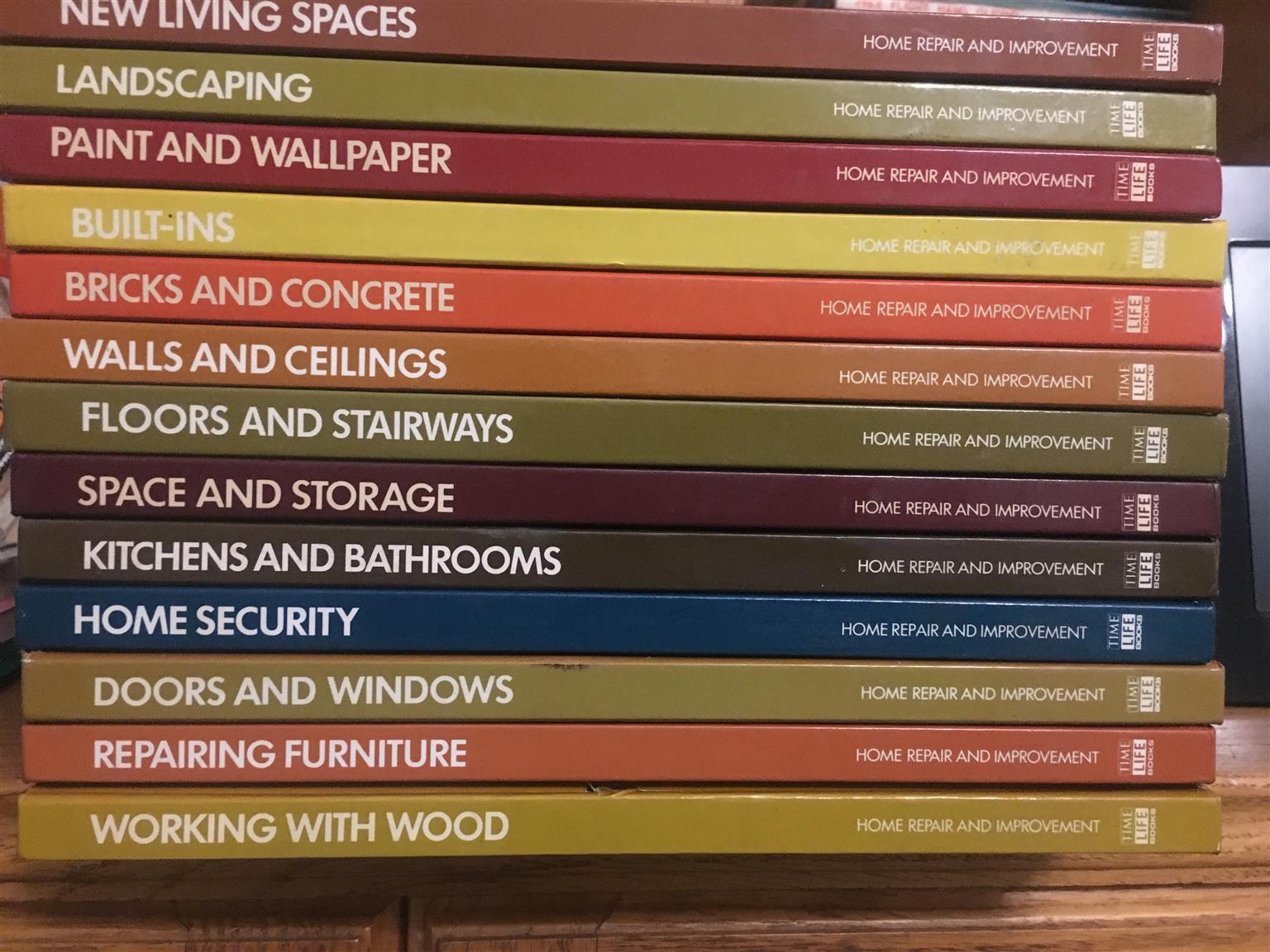 13 x DIY  Books: House Hold & Garden