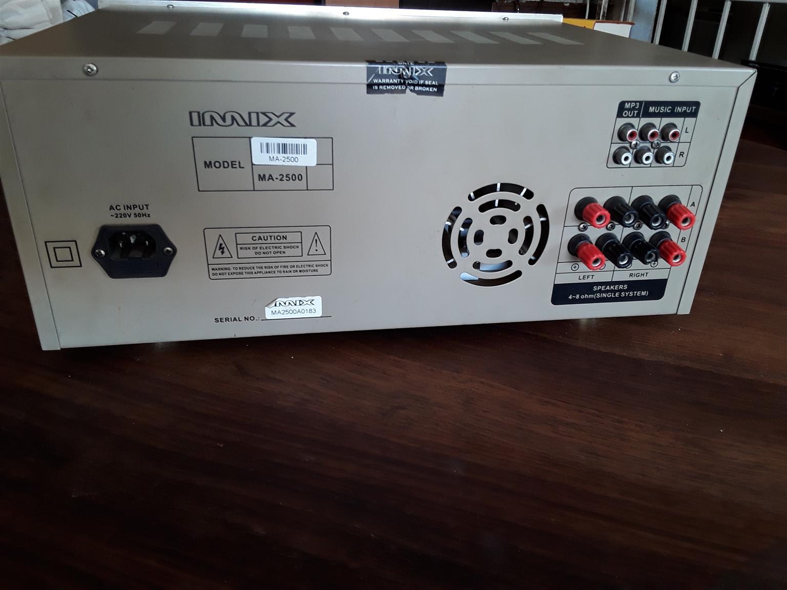 IMIX Professional Amplifier