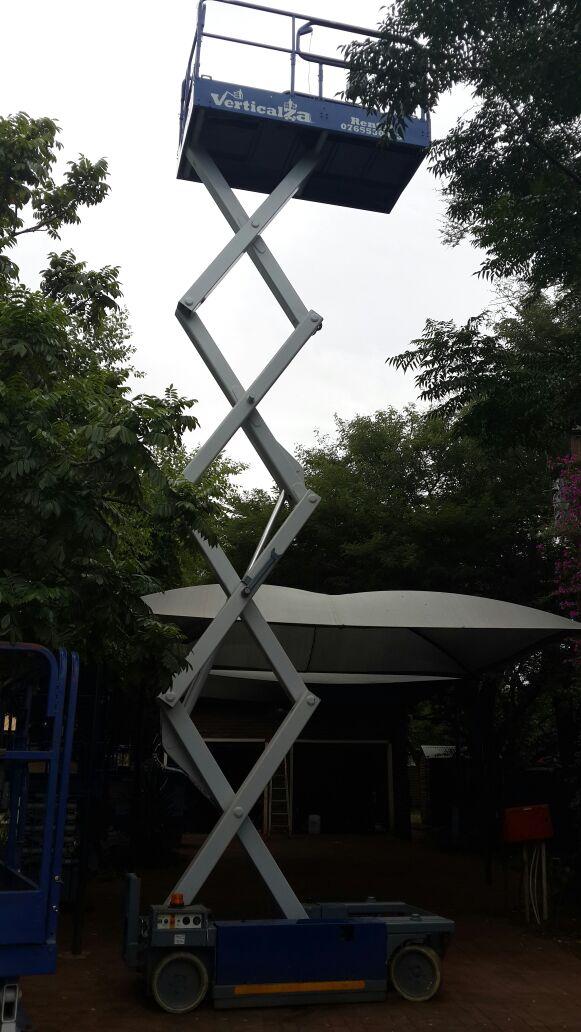 VerticalZA Scissor Lift MEC 2647ES - 10m Electrical cherry picker  Manlift