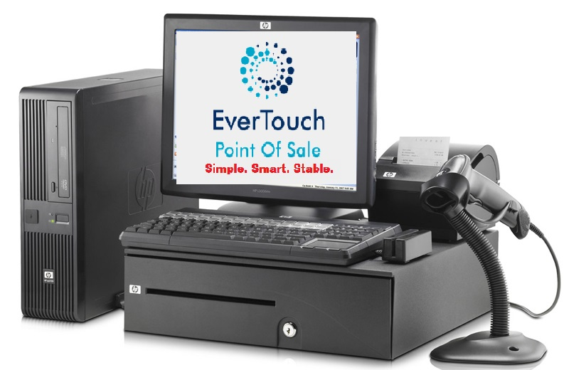 Touch-screen point of sale systems on special
