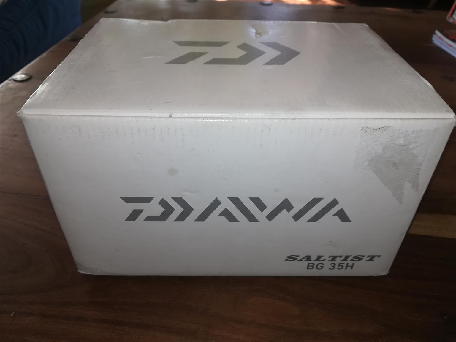 Brand new Daiwa saltist BG 35H