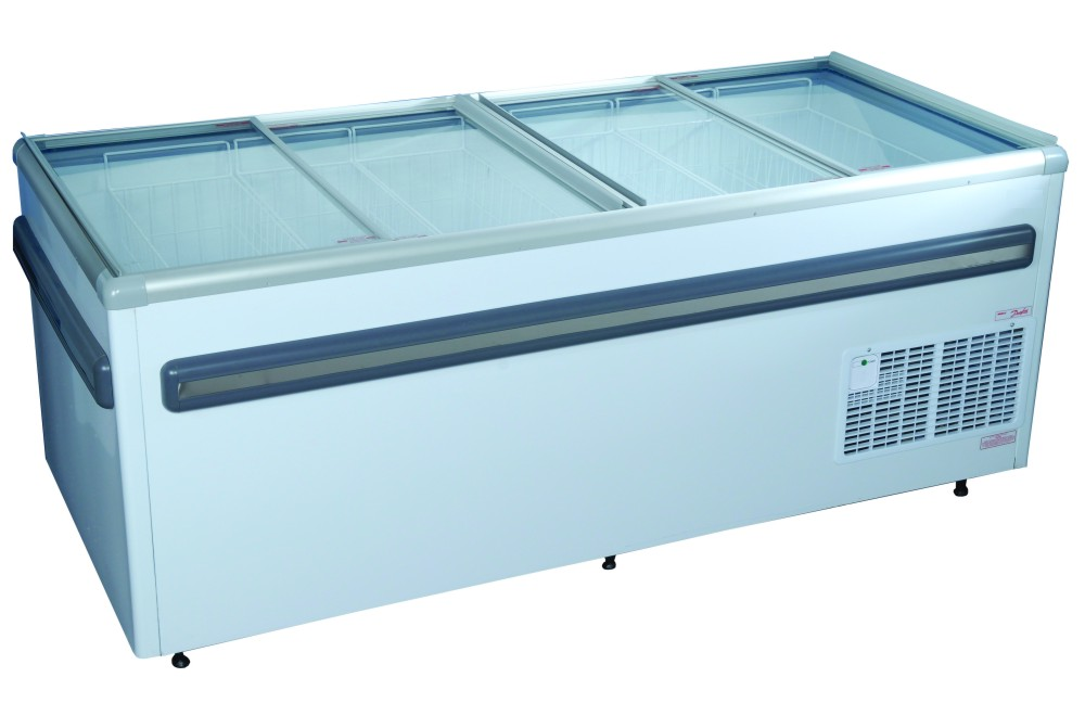Glass Top Commercial Chest Freezers