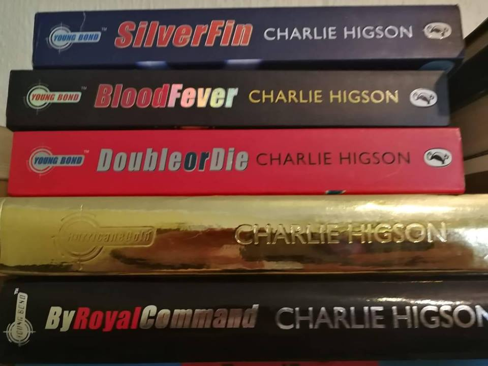 Charlie Higson books for sale