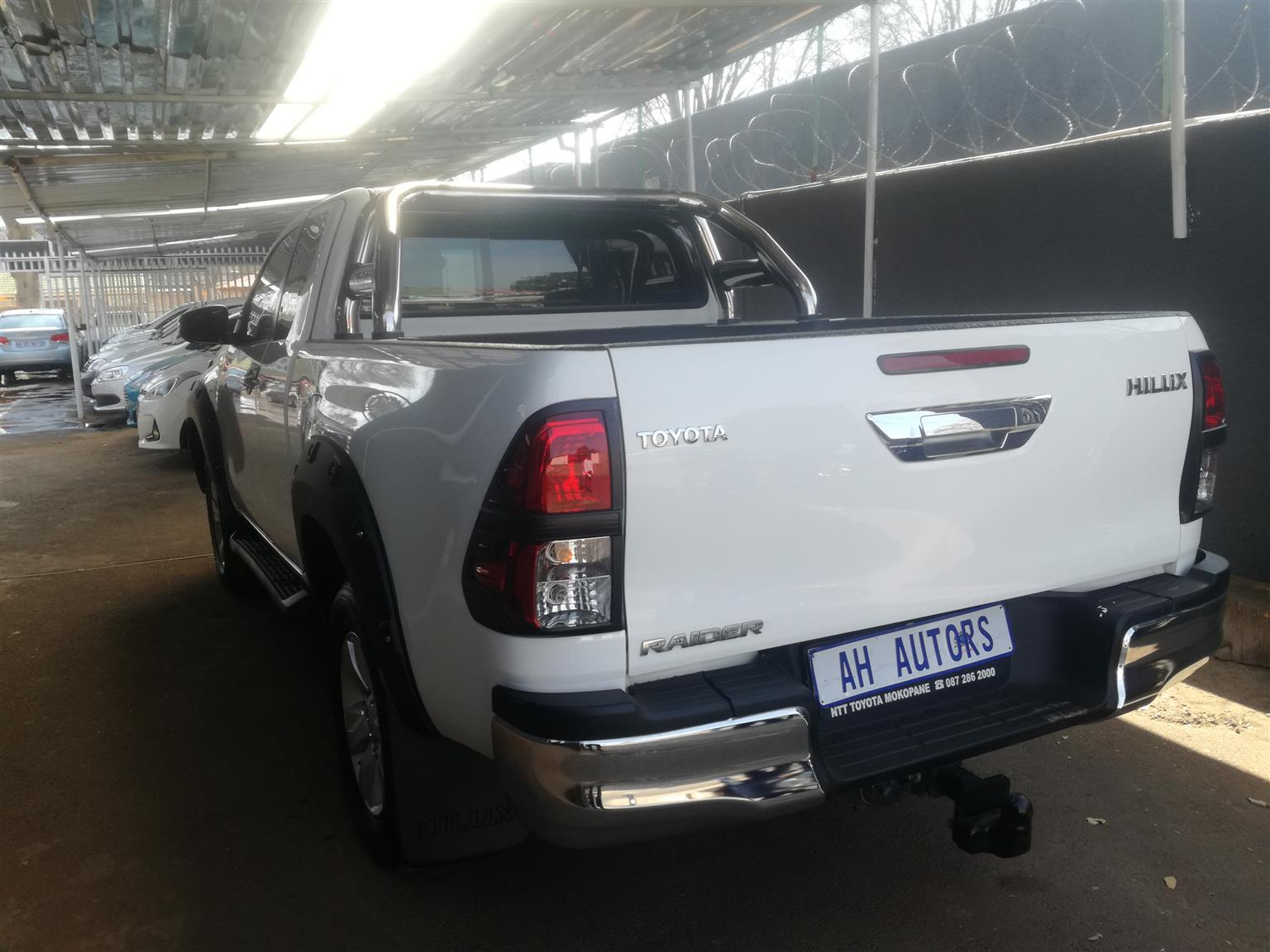 2017 Toyota Hilux Single Cab Hilux 2 8 Gd 6 Raider 4x4 P U S C Buy