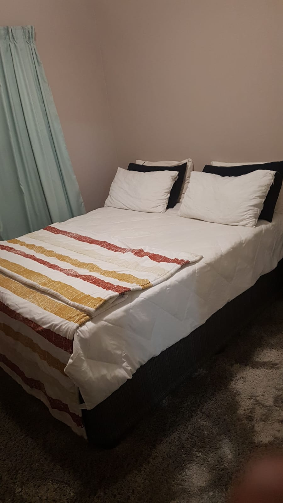 SHARING...A room in a clean two bedroom room flat inside a beautiful complex to share, with 24/7WiFi