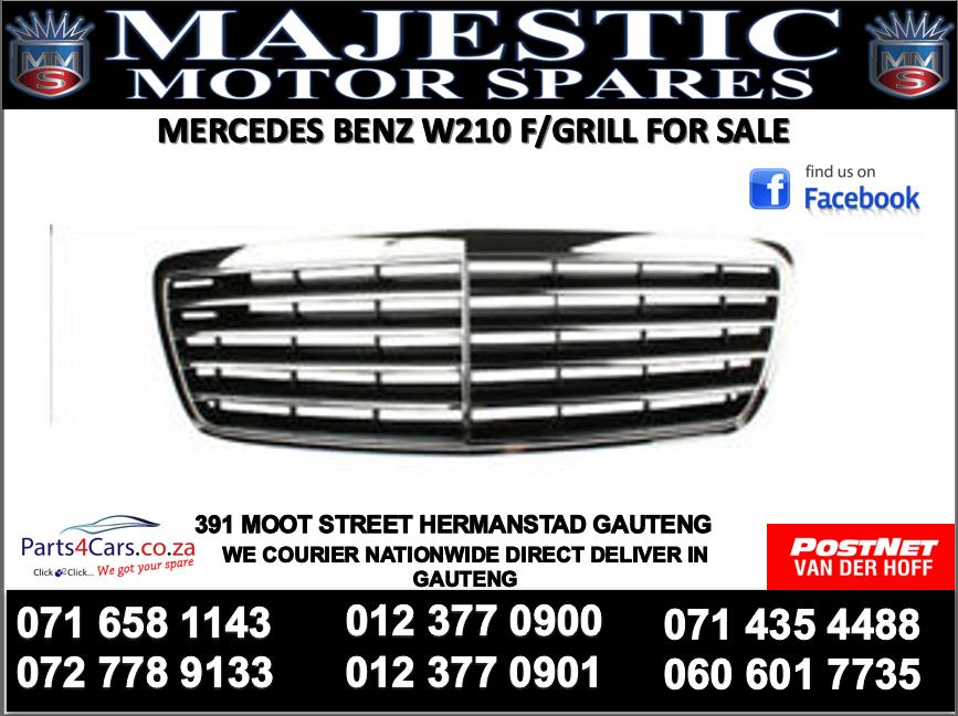 Mercedes benz W210 bumper grill for sale