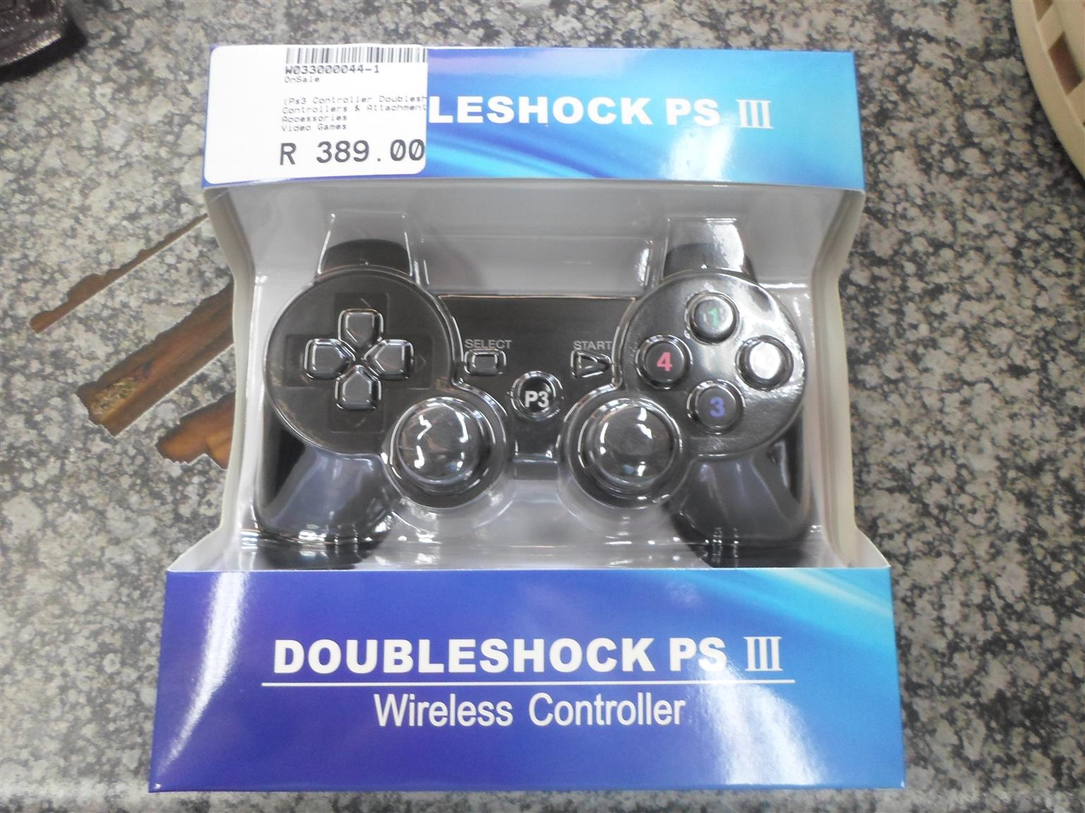 Doubleshock PSlll Wireless Controller