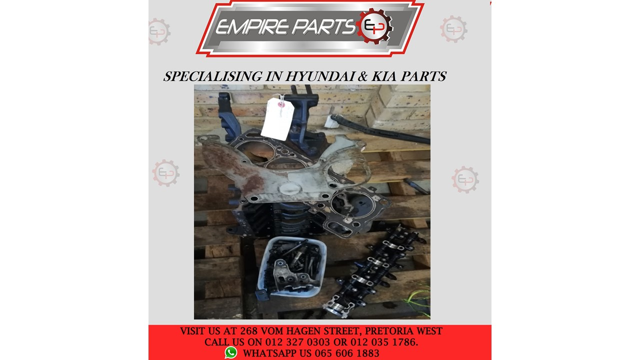 *COMPLETE ENGINE* - HY014 HYUNDAI ACCENT 2000 G4EB